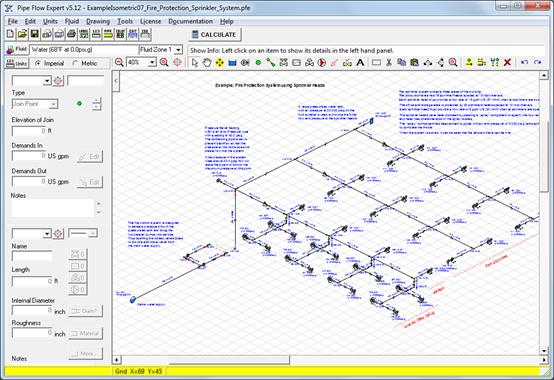 Fire Hydrant System Design Calculation Software